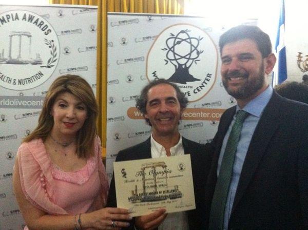Ecolibor recibe la medalla de oro en Atenas