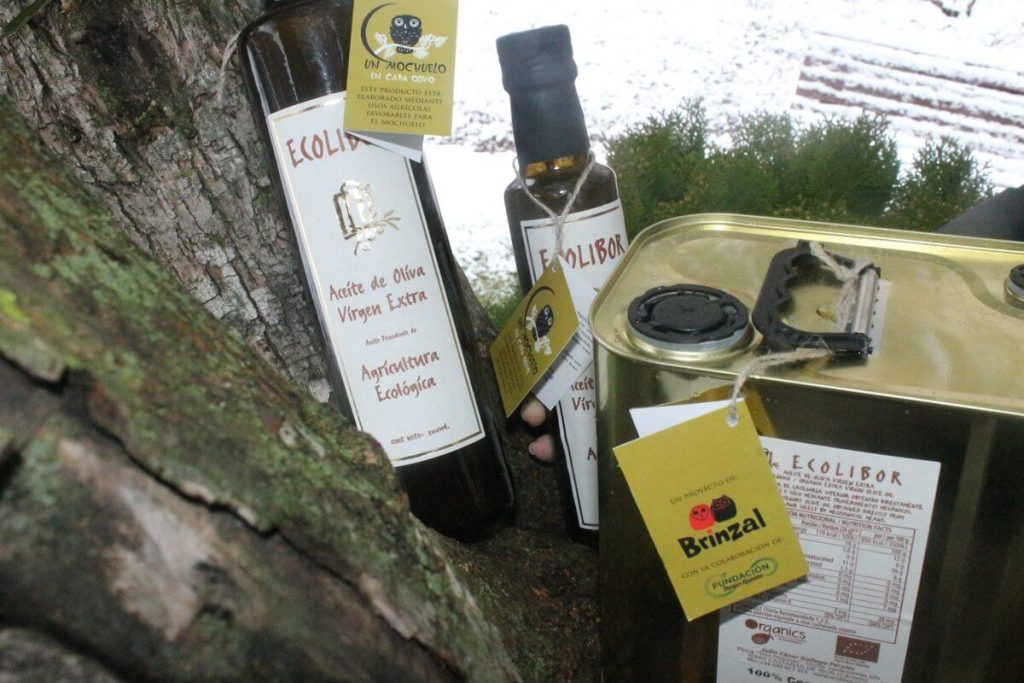 Aceite de oliva virgen extra Ecolibor